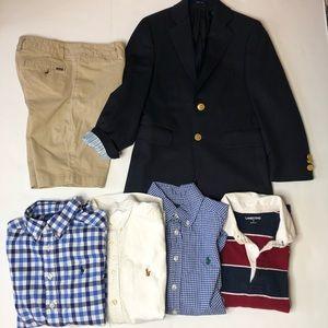 Boy's Lot (6 items) Ralph Lauren Polo Blazer Shirt